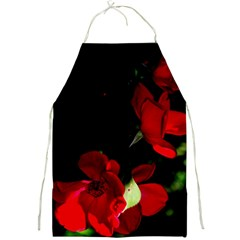 Roses 1 Full Print Aprons by timelessartoncanvas