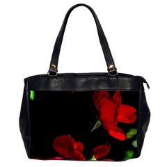 Roses 1 Office Handbags (2 Sides)  by timelessartoncanvas
