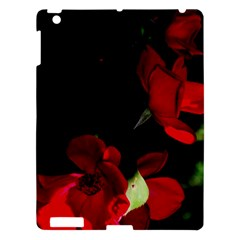 Roses 1 Apple Ipad 3/4 Hardshell Case by timelessartoncanvas