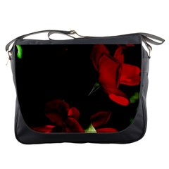 Roses 1 Messenger Bags by timelessartoncanvas