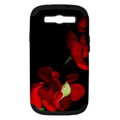 Roses 1 Samsung Galaxy S Iii Hardshell Case (pc+silicone) by timelessartoncanvas
