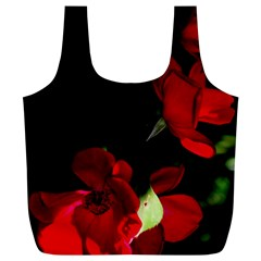 Roses 1 Full Print Recycle Bags (l)  by timelessartoncanvas