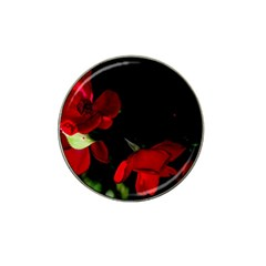 Roses 2 Hat Clip Ball Marker (10 Pack) by timelessartoncanvas