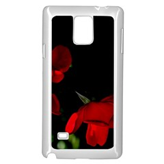 Roses 2 Samsung Galaxy Note 4 Case (white) by timelessartoncanvas