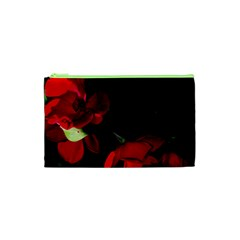 Roses 2 Cosmetic Bag (xs) by timelessartoncanvas