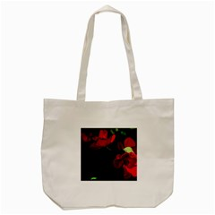 Roses 3 Tote Bag (cream) by timelessartoncanvas