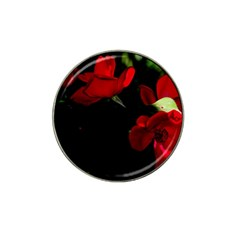 Roses 3 Hat Clip Ball Marker (4 Pack) by timelessartoncanvas