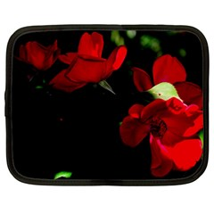 Roses 3 Netbook Case (large) by timelessartoncanvas