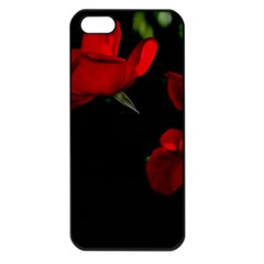 Roses 3 Apple Iphone 5 Seamless Case (black) by timelessartoncanvas
