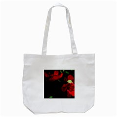 Roses 3 Tote Bag (white) by timelessartoncanvas