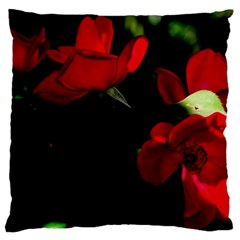 Roses 3 Standard Flano Cushion Case (two Sides) by timelessartoncanvas