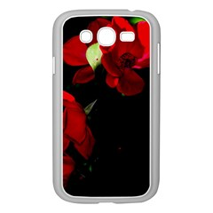 Roses 4 Samsung Galaxy Grand Duos I9082 Case (white) by timelessartoncanvas