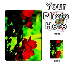 Red Roses And Bright Green 1 Multi Purpose Cards (rectangle)  by timelessartoncanvas