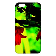 Red Roses And Bright Green 2 Iphone 6 Plus/6s Plus Tpu Case by timelessartoncanvas