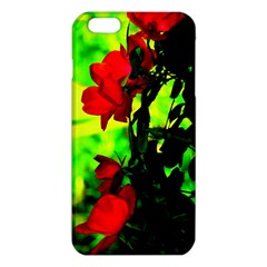 Red Roses And Bright Green 3 Iphone 6 Plus/6s Plus Tpu Case by timelessartoncanvas