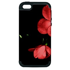 Mauve Roses 1 Apple Iphone 5 Hardshell Case (pc+silicone) by timelessartoncanvas