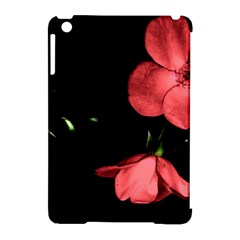 Mauve Roses 1 Apple Ipad Mini Hardshell Case (compatible With Smart Cover) by timelessartoncanvas