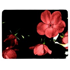 Mauve Roses 1 Samsung Galaxy Tab 7  P1000 Flip Case by timelessartoncanvas