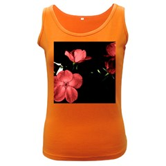 Mauve Roses 2 Women s Dark Tank Top by timelessartoncanvas