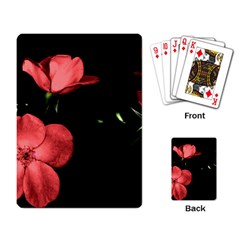 Mauve Roses 2 Playing Card by timelessartoncanvas