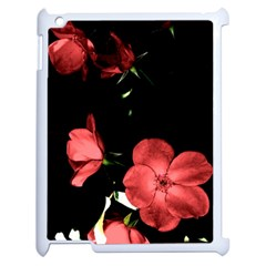 Mauve Roses 3 Apple Ipad 2 Case (white) by timelessartoncanvas