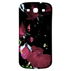 Mauve Pink Roses Samsung Galaxy S3 S Iii Classic Hardshell Back Case by timelessartoncanvas