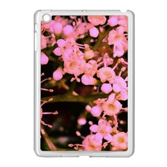 Little Mauve Flowers Apple Ipad Mini Case (white) by timelessartoncanvas