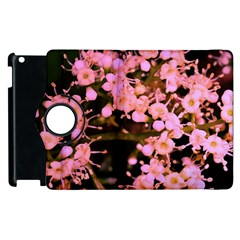 Little Mauve Flowers Apple Ipad 3/4 Flip 360 Case by timelessartoncanvas