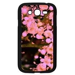 Little Mauve Flowers Samsung Galaxy Grand Duos I9082 Case (black) by timelessartoncanvas