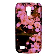 Little Mauve Flowers Galaxy S4 Mini by timelessartoncanvas
