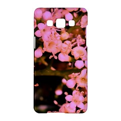 Little Mauve Flowers Samsung Galaxy A5 Hardshell Case  by timelessartoncanvas