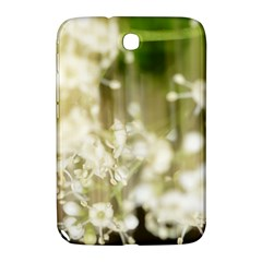 Little White Flowers Samsung Galaxy Note 8 0 N5100 Hardshell Case  by timelessartoncanvas