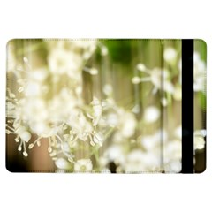 Little White Flowers Ipad Air Flip by timelessartoncanvas