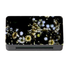 Little White Flowers 2 Memory Card Reader With Cf by timelessartoncanvas