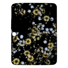 Little White Flowers 2 Samsung Galaxy Tab 3 (10 1 ) P5200 Hardshell Case  by timelessartoncanvas