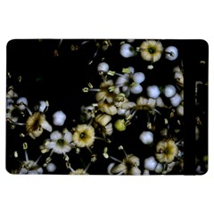 Little White Flowers 2 Ipad Air Flip by timelessartoncanvas