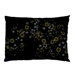 Little White Flowers 3 Pillow Case