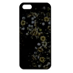 Little White Flowers 3 Apple Iphone 5 Seamless Case (black) by timelessartoncanvas