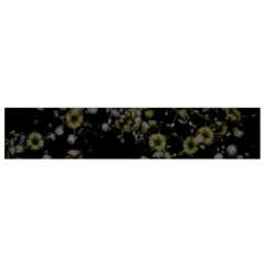 Little White Flowers 3 Flano Scarf (small) by timelessartoncanvas