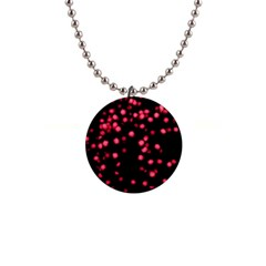 Little Pink Dots Button Necklaces