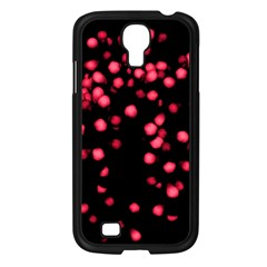 Little Pink Dots Samsung Galaxy S4 I9500/ I9505 Case (black) by timelessartoncanvas
