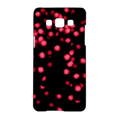 Little Pink Dots Samsung Galaxy A5 Hardshell Case