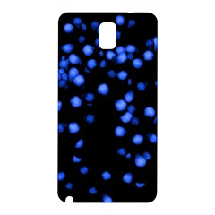 Little Blue Dots Samsung Galaxy Note 3 N9005 Hardshell Back Case by timelessartoncanvas