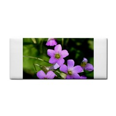 Little Purple Flowers Hand Towel