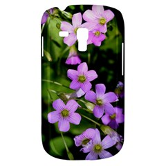 Little Purple Flowers Samsung Galaxy S3 Mini I8190 Hardshell Case by timelessartoncanvas