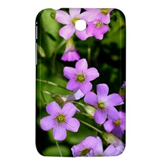 Little Purple Flowers Samsung Galaxy Tab 3 (7 ) P3200 Hardshell Case  by timelessartoncanvas