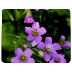 Little Purple Flowers Jigsaw Puzzle Photo Stand (rectangular) by timelessartoncanvas