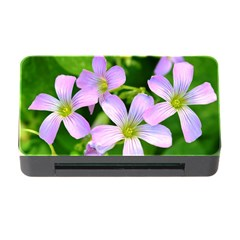 Little Purple Flowers 2 Memory Card Reader With Cf by timelessartoncanvas