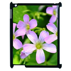 Little Purple Flowers 2 Apple Ipad 2 Case (black) by timelessartoncanvas