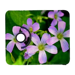 Little Purple Flowers 2 Samsung Galaxy S  Iii Flip 360 Case by timelessartoncanvas